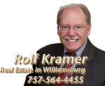 rolf kramer, real estate, Williamsburg, VA