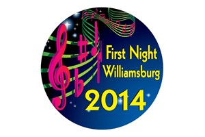 First Night Button 2014, Rolf Kramer, Real Estate Buyers Agent, Williamsburg, VA