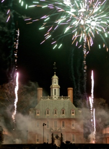 Grand Illumination, Williamsburg, Virginia, Rolf Kramer, Real Estate Agent, Williamsburg