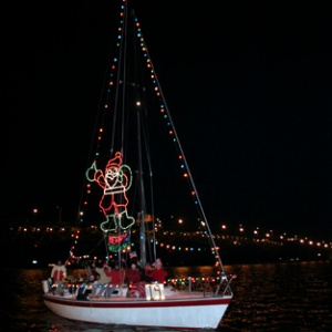 Christmas Boat Parade, Yorktown Virginia, Rolf Kramer, Real Estate Agent, Williamsburg