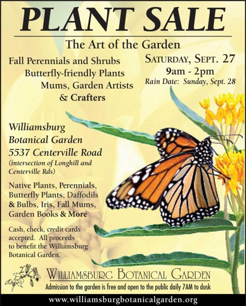 plant sale botanical garden the art of the garden