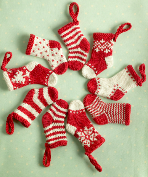 christmas stocking wreath baby