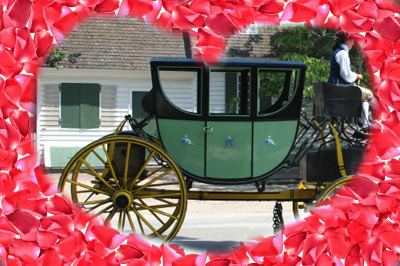 Roses? Candy? or a romantic carriage ride in Colonial Williamsburg!