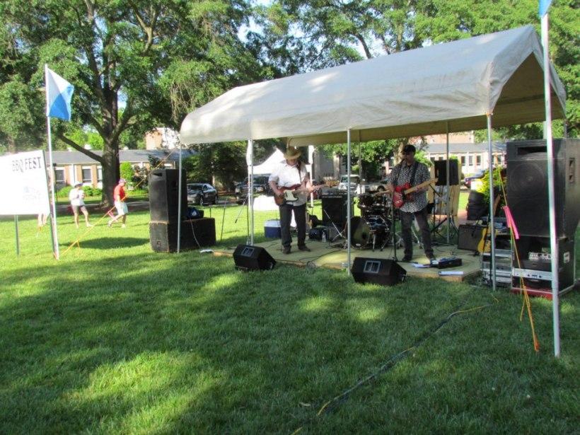 Herbie D and the Dangermen at Kiwanis Smokin' Hot BBQ Fest