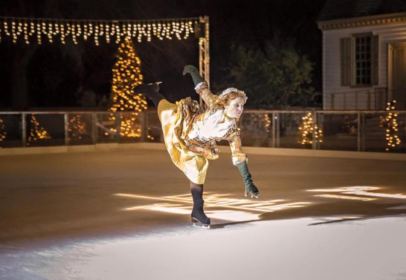 Liberty's Skating Pavilion open for ice skating in Colonial Williamsburg, Rolf Kramer Real Estate